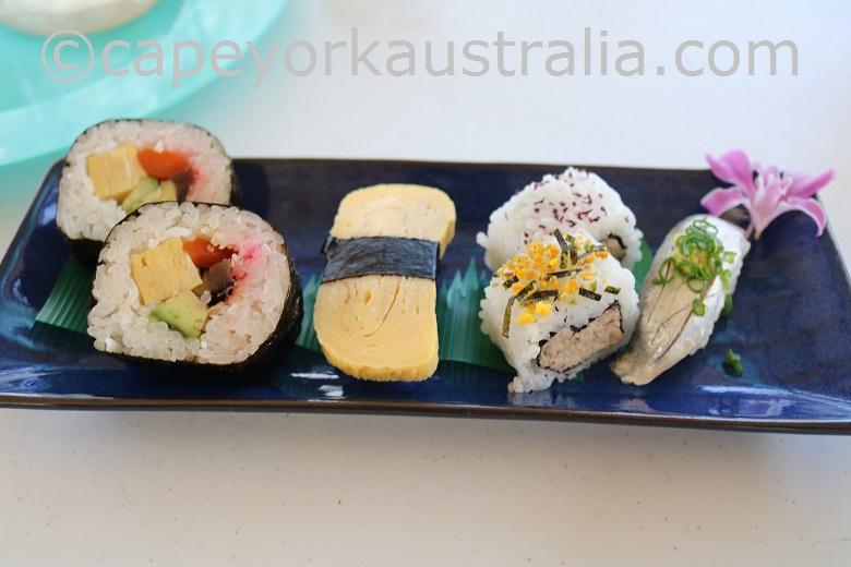 friday island sushi plate