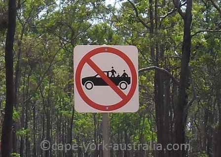 funny cape york sign