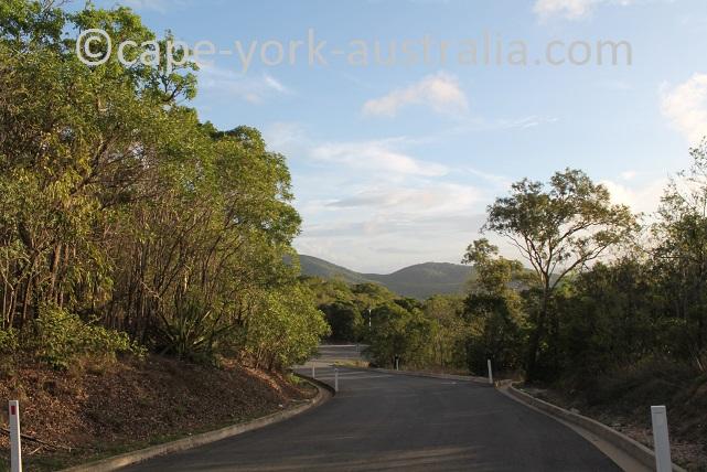 grassy hill walk river views