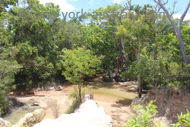gunshot creek bank