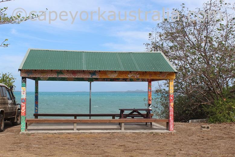 hammond island picnic shelter