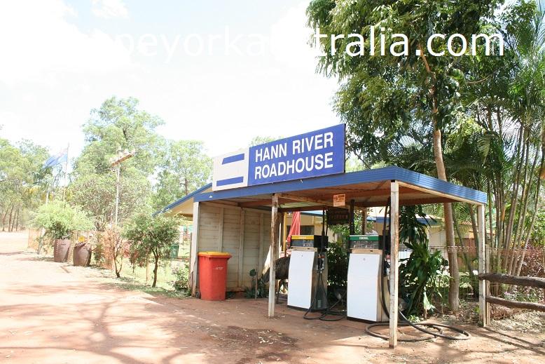 hann river roadhouse fuel