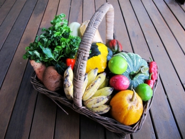 hilltop farm produce basket