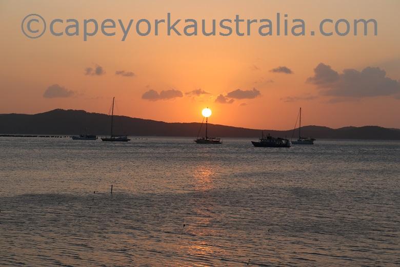 horn island sunset