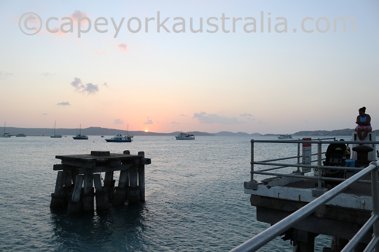 horn island wharf activities
