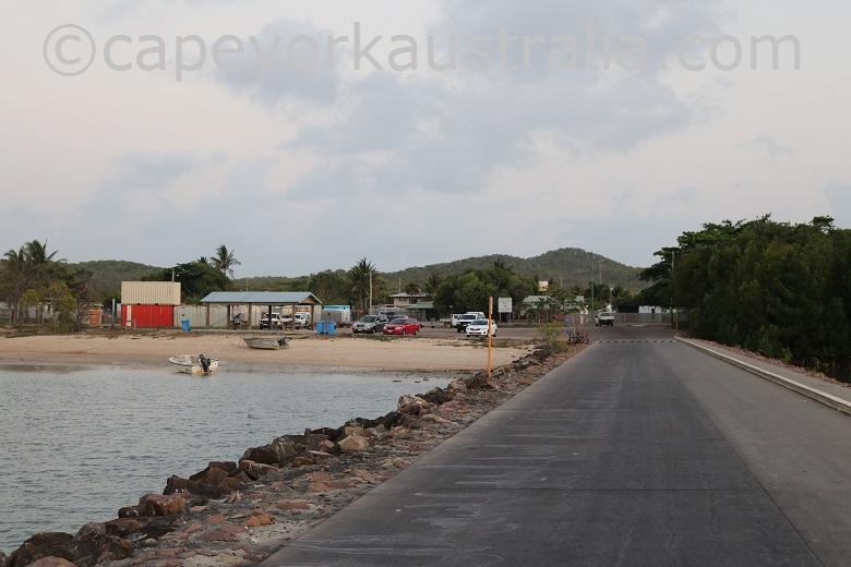 horn island wharf area