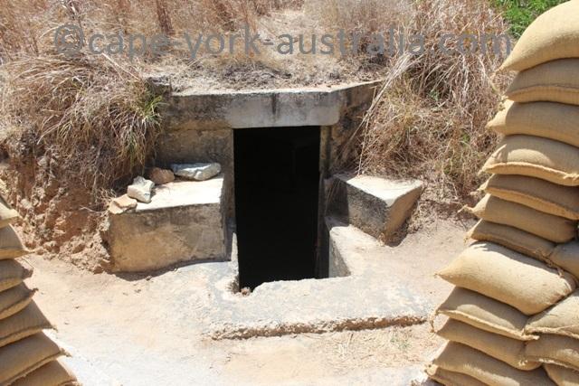 horn island wwii war bunker