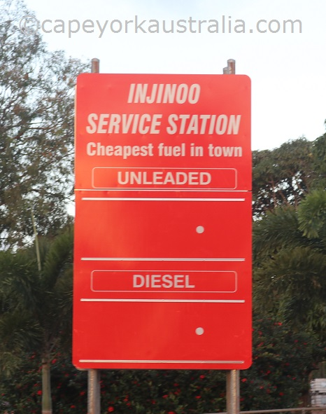 injinoo service station cheapest fuel
