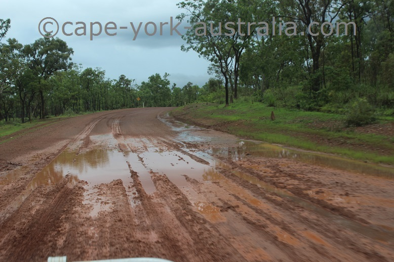 iron range road wet season
