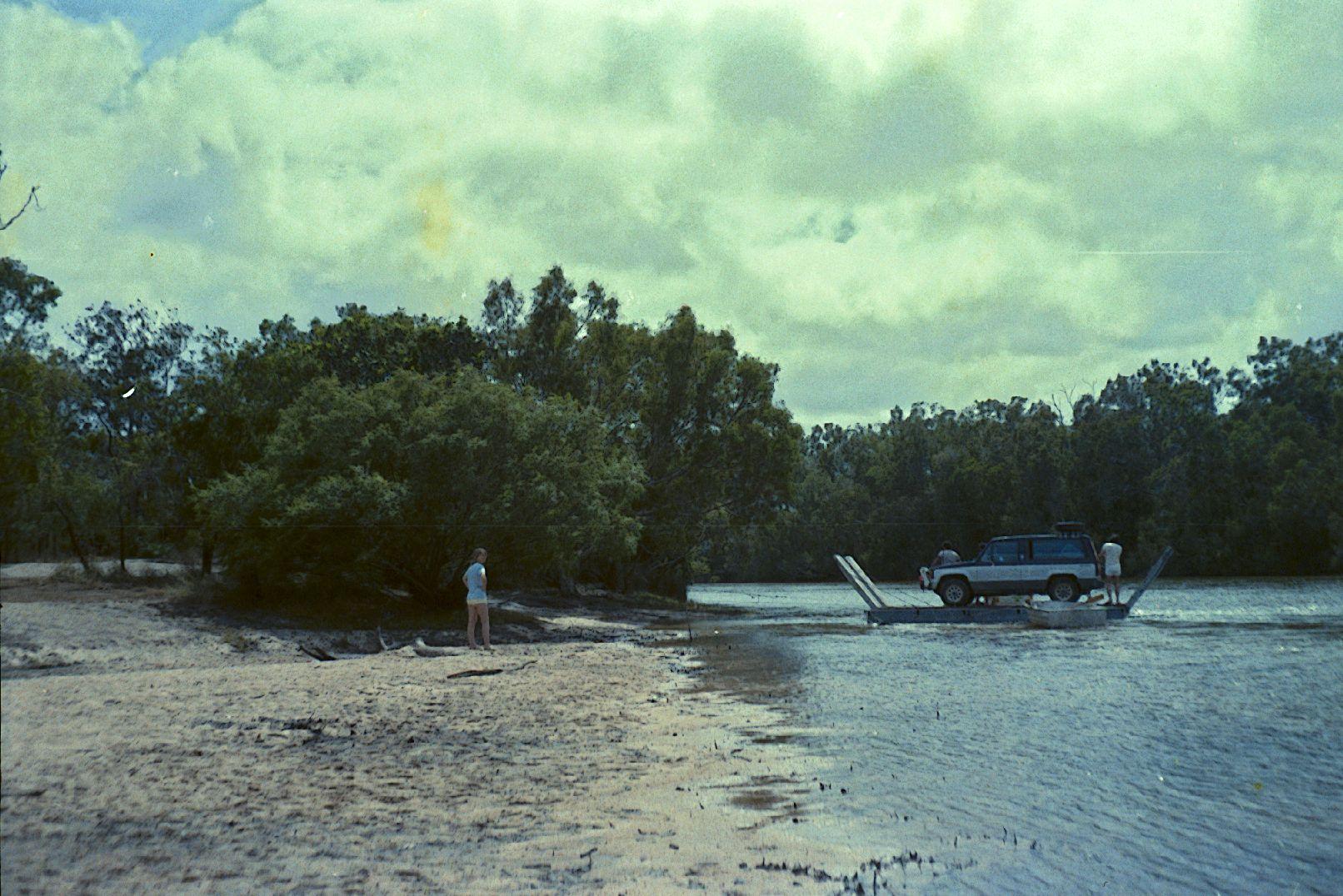 jardine river ferry 1986