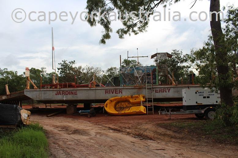 jardine river ferry renovation