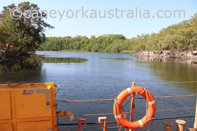 jardine river ferry views