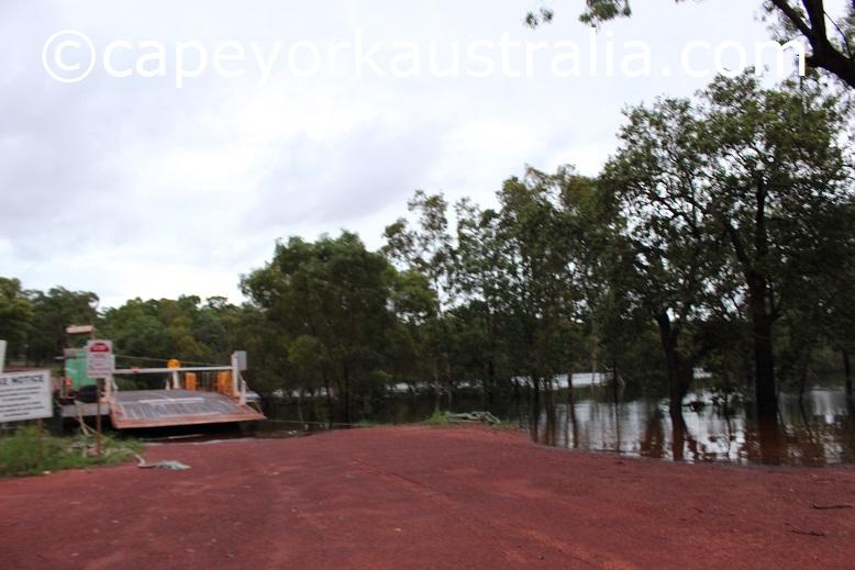 jardine river ferry wet season