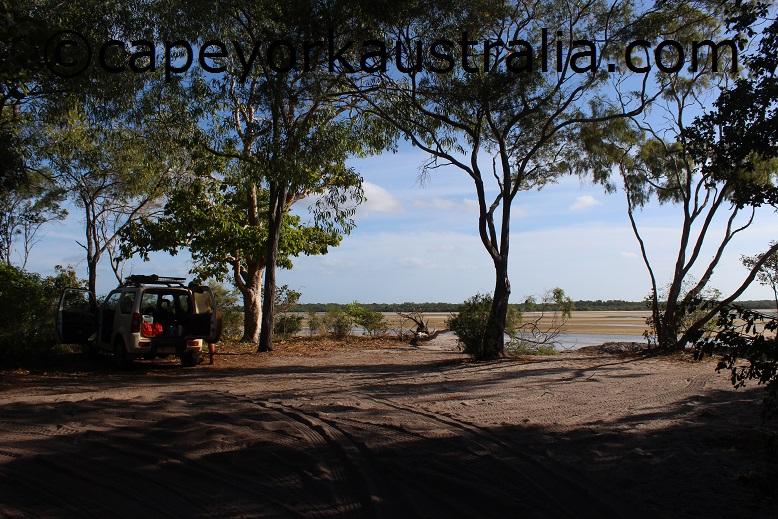 jardine river mouth bank