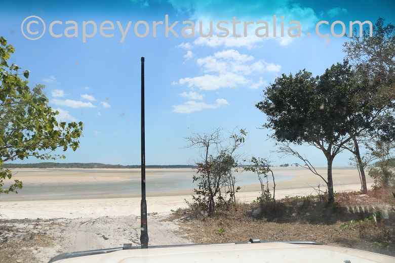 jardine river mouth drive down