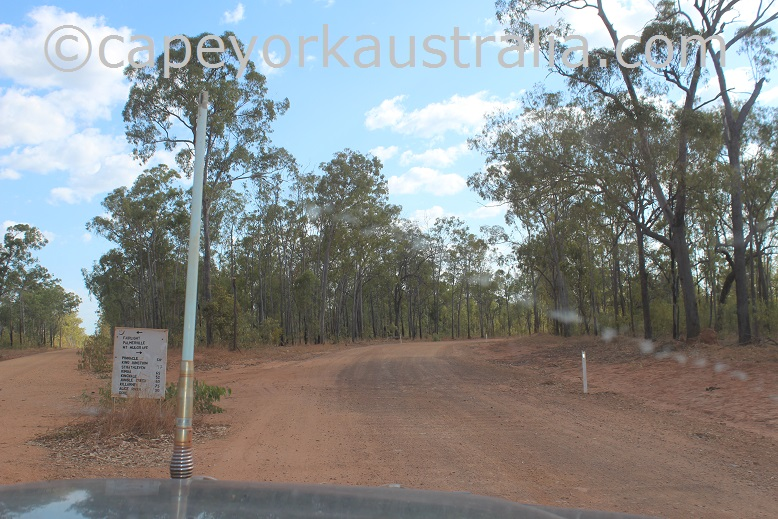 kimba to gamboola road after fairview
