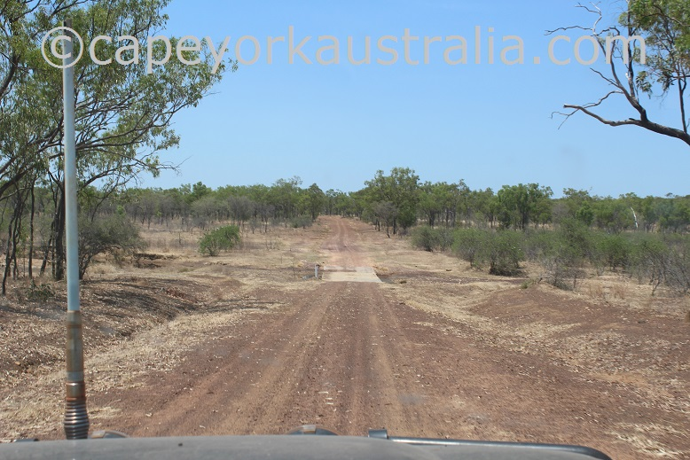 kimba to gamboola road causeway bridge