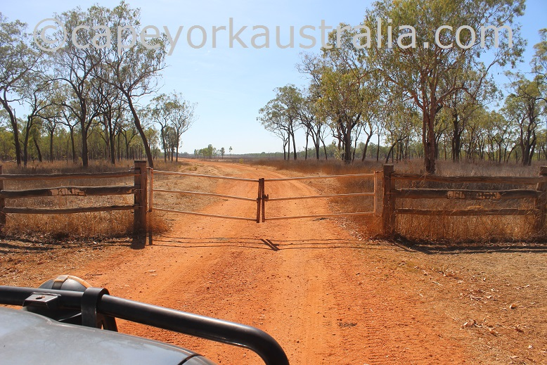 kimba to gamboola road king junction gate