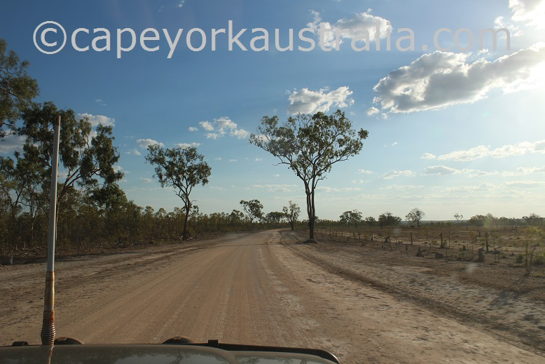 kimba to gamboola road red soil
