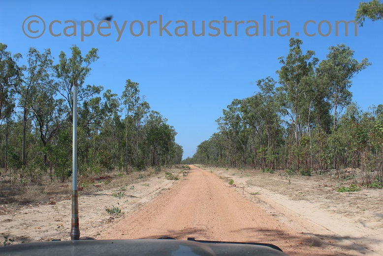 kimba to gamboola road south