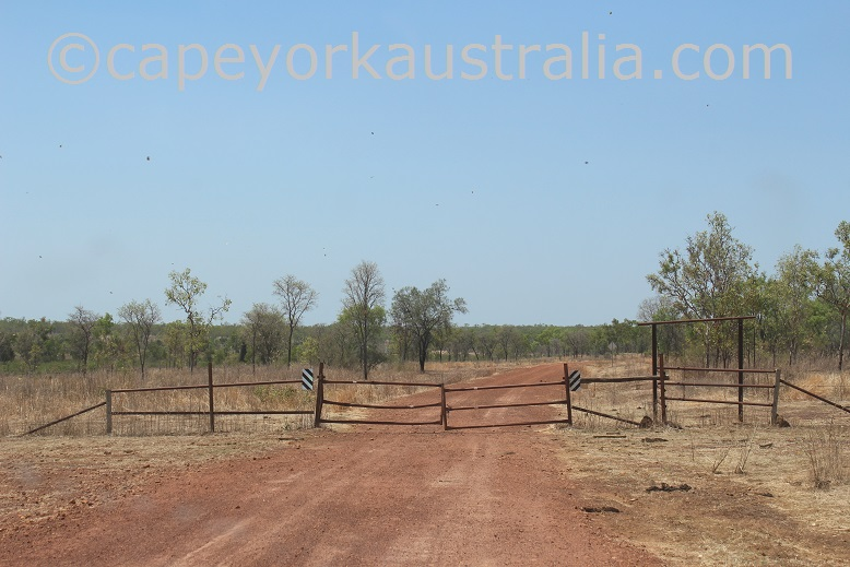 kimba to gamboola road wrotham station gate