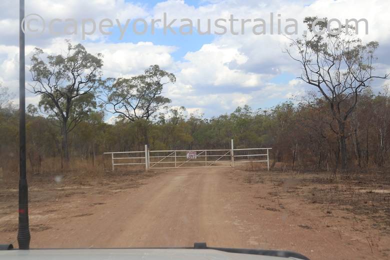 kondiparinga mt mulligan road gate closed