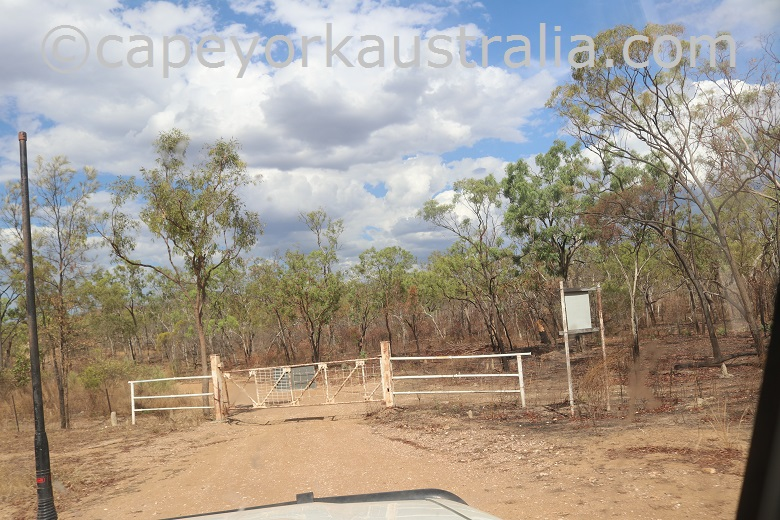 kondiparinga mt mulligan road gate