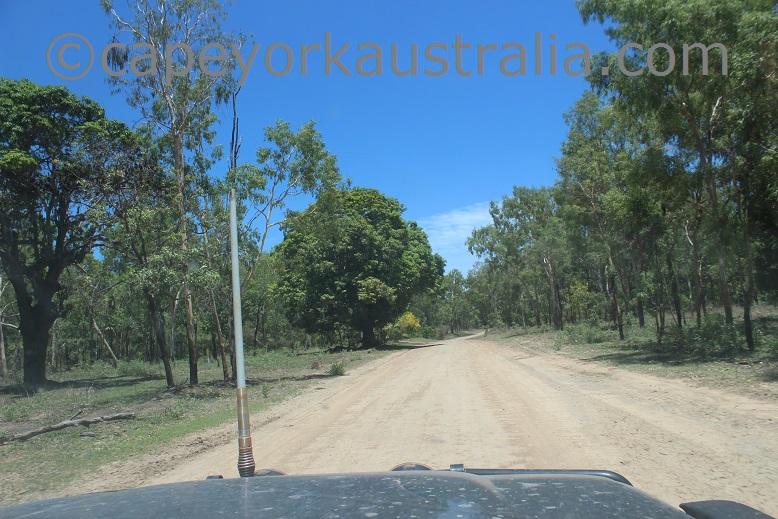 kowanyama road to landing