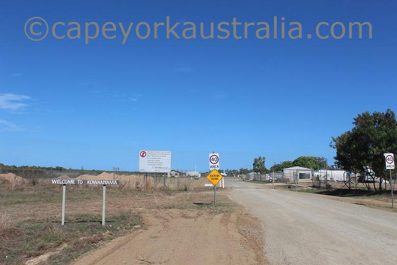 kowanyama signs