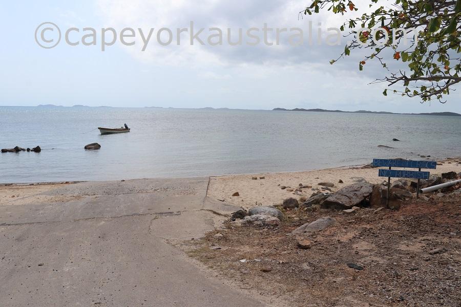 kubin boat ramp