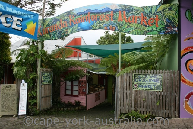 kuranda rainforest market