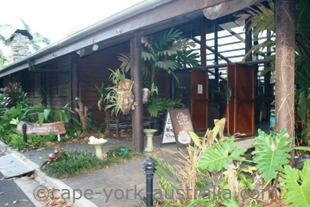 kuranda resort and spa reception