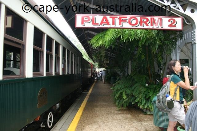 kuranda scenic railway train