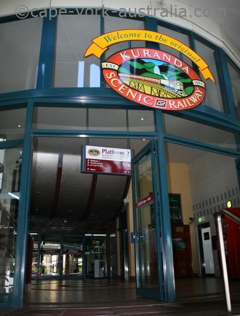 kuranda train station cairns