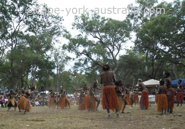 pormpuraaw dancers