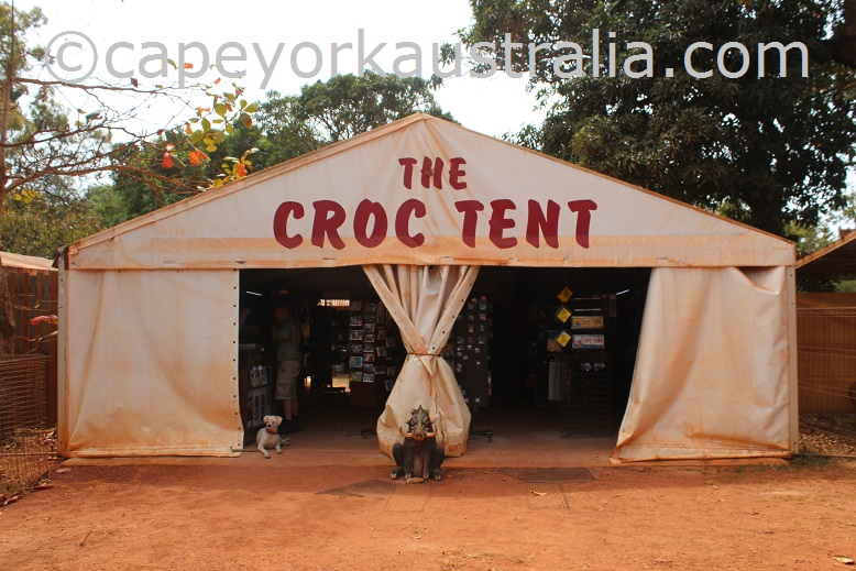 lockerbie croc tent