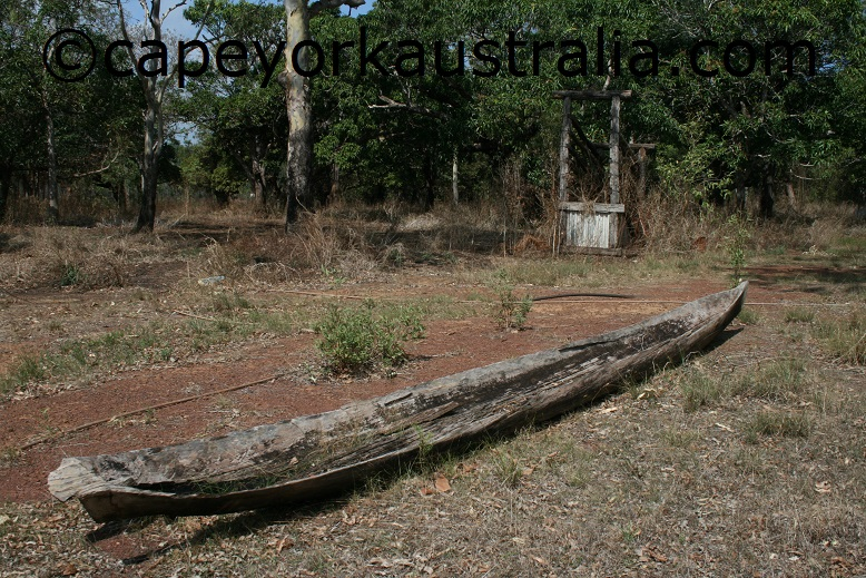 lockerbie homestead ruins canoe