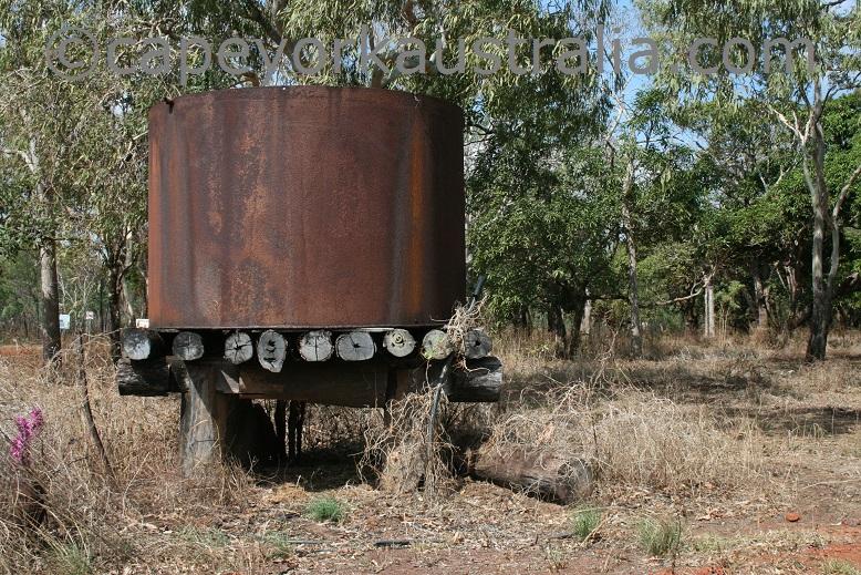lockerbie homestead ruins water tank