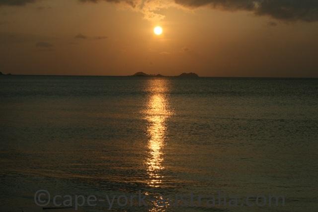 loyalty beach sunset