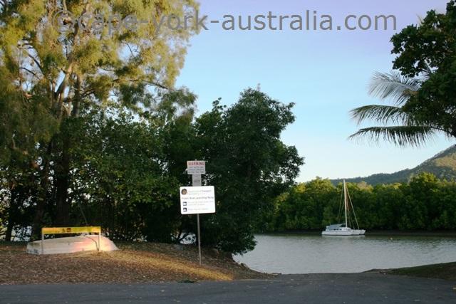 machans beach boat ramp