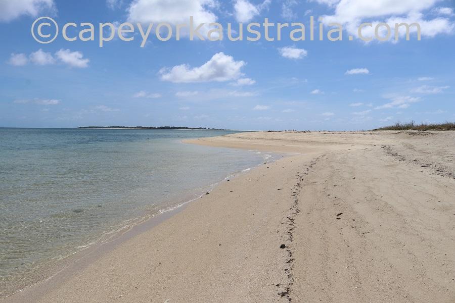 masig island beach north