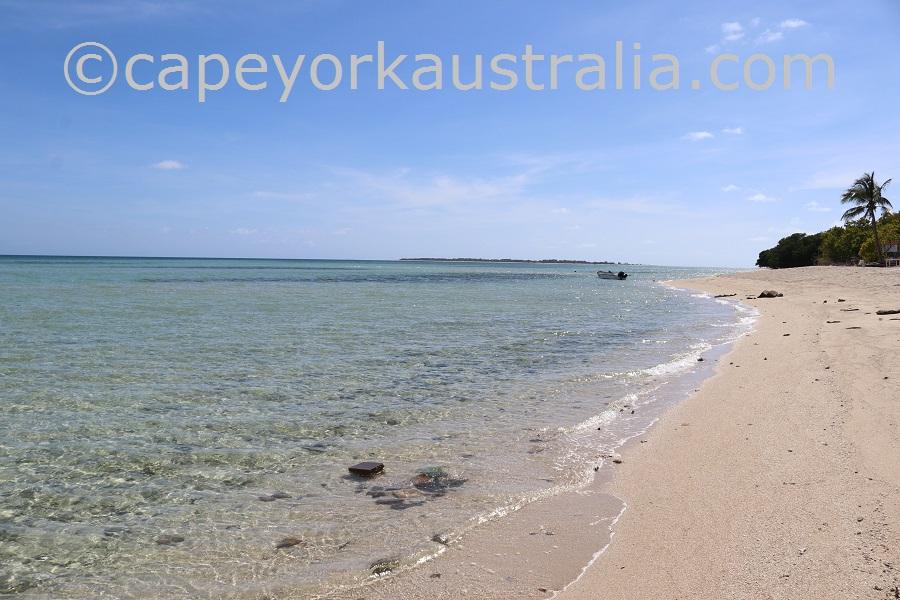 masig island beach