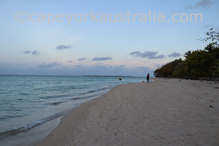 masig island evening walk