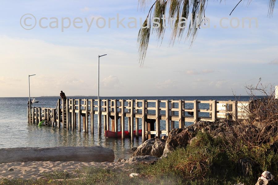 masig island pier