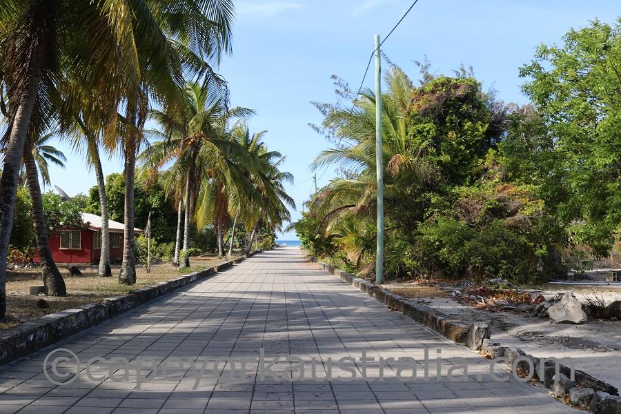 masig island streets