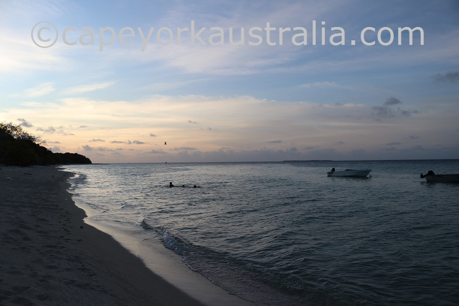 masig island sunset