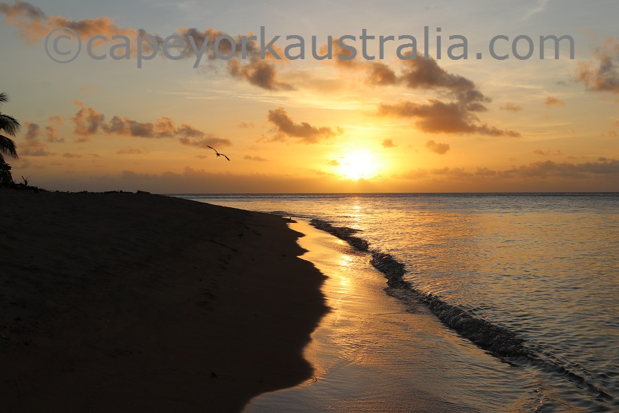 mer island sunset