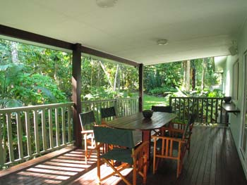miju rainforest retreat kuranda