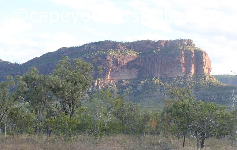 mount mulligan cliff face