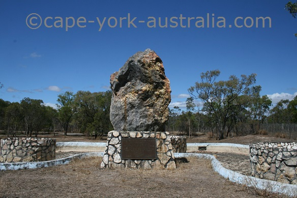 mt carbine mining monument